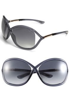 Tom Ford 'Whitney' Open Side Sunglasses