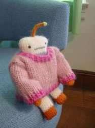 knitted robot...