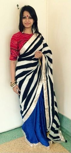 Sari by Ayush Kejriwal - For purchase enquires drop me a message on Facebook…