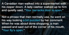 He Felt Smart When He Made A Witty Remark To The Cashier But Her Response Left Him Speechless
