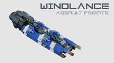 Windlance: Assault Frigate | by One More Brick