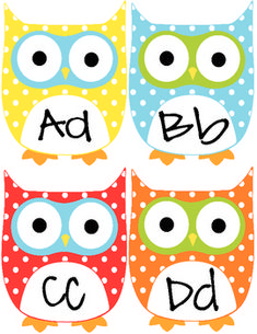 Free owl word wall letters @Lisa Phillips-Barton Phillips-Barton Phillips-Barton Phillips-Barton Phillips-Barton Richter thanks Lisa!!!!!!