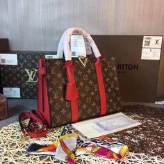 Louis Vuitton lv woman monogram tote bag