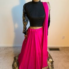 Hot Pink Blouses, The Perfect Touch, Mehendi, Pink Color, Indian Fashion, Wedding Colors, Special Occasion, Pure Products, Elegant