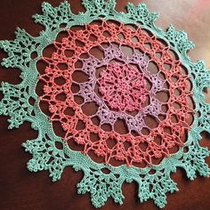 Ravelry: Project Gallery for Wisteria Doily LC4646 pattern by Kathryn White