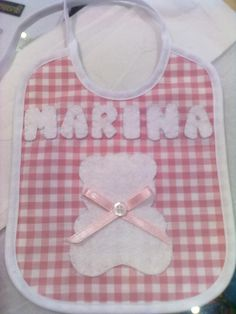 Babero para Marina