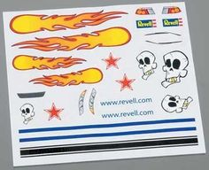 Revell Dry Transfer Decal C by Revell Inc.. $2.62. Officially licensed by the Boy Scouts of America. Put your pinewood car in a class of its own by topping off your paint scheme with these totally hot decals! They're the high-quality, dry transfer type ? just position the decal where you want it and rub gently against the backing sheet using a dull pencil or similar object. Even over corners and contours, the decal sticks firmly and stays put. Each sheet gives you a variety of d...