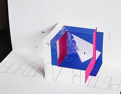 """다음 @Behance 프로젝트 확인: """"Deconstructive Pop-up book """" https://www.behance.net/gallery/23120727/Deconstructive-Pop-up-book-"""