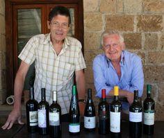 Luigi Cremona and Mario Busso, the wine journalist authors VINI BUONI D'ITALIA Guide