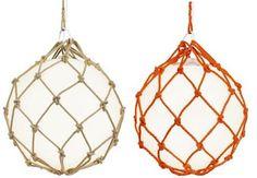 Fisherman Pendant, Glass Float