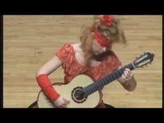 "Galina Vale - Liszt ""Hungarian Rhapsody no 2""  live in Seoul blindfolded"