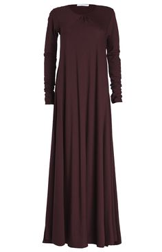 Aab UK Mulberry Plum Abaya : Standard view
