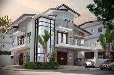 Impressive Modern Residences Exterior Design Ideas
