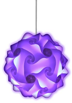 This modern, stylish purple lamp create the wow factor in any home, bar, restaurant or event. Available in a wide range of colors!