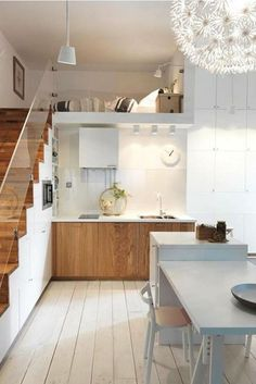Stunning Cool Ideas: Minimalist Home Plans Window french minimalist decor home.Minimalist Home With Kids Spaces minimalist bedroom carpet decorating ideas.Minimalist Home Decorating Interiors. Small Loft Bedroom, Loft Room, Stylish Bedroom, Bedroom Kids, Bedroom Storage, Small Apartments, Small Spaces, Kitchen Under Stairs, Loft House