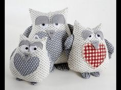 Spring Projects: String of Owls Video Tutorial - Debbie Shore