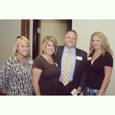 Guest Attorneys Chris Medlenka And Tara Tankersly Staff At Fort Worth Open House