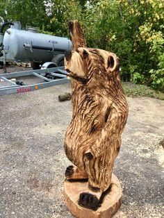 Simple Wood Carving, Wooden Sculptures, Lion Sculpture, Statue, Cars, Glee, Figurine, Timber Wood, Autos