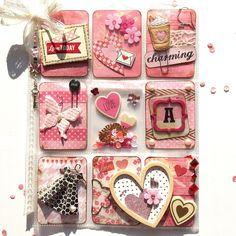 Valentine's Day Pocket Letter I made for a FB Swap ~~~ #pocketletter…