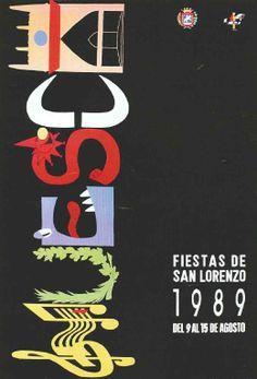 Fiestas de San Lorenzo, año 1989