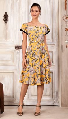 Spring Work Outfits, Wedding Looks, Skirt Outfits, Blouses For Women, Fancy, Summer Dresses, Yellow, Casual, How To Wear