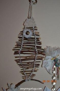 Kuru dallardan balık, fish, dıy, home dıy ideas, home decoration, easy dıy home decor