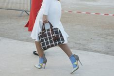 The Jimmy Choo TYPHOON spotted at PFW