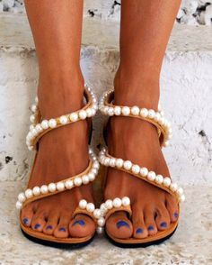"""Luxurious Sandals/ Wedding Sandals/ Bridal Sandals/ Leather Sandals/ Handmade Sandals/ Chic Sandals/ Glamorous Sandals """"WHITE DREAM"""" by magosisters on Etsy https://www.etsy.com/listing/398177263/luxurious-sandals-wedding-sandals-bridal"""
