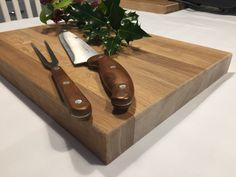 Solid Oak Chopping Board - Hux and Bea