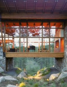 Olson Sundberg Kundig Allen Architects - contemporary - exterior - seattle - Quantum Windows & Doors, Inc.