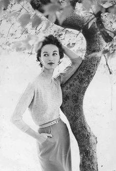 Evelyn Tripp for Harper's Bazaar, 1950s