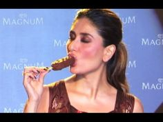 Kareena Kapoor Sexy Licks & Sucks Ice Cream In Public