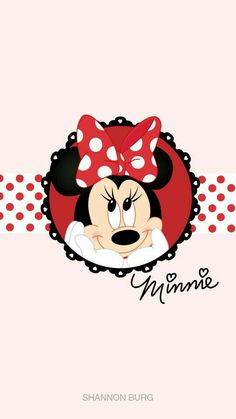 Resultado de imagen para minnie mouse minie mouse pinterest licorne arc en ciel peinture - Minnie mouse wallpaper pinterest ...