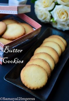 The best sooper flaky Eggless butter biscuits baked with perfection and with step wise pictures. Tea Cookies, Ginger Cookies, No Bake Cookies, Shortbread Cookies, Eggless Butter Cookies Recipe, Butter Bread Recipe, Egg Free Recipes, Baking Recipes, Cookie Recipes