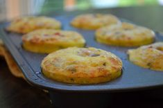 On-The-Go Egg Muffins. On-The-Go Egg Muffins with Chiles and Cheese. Invest a little time in making a batch to reheat and enjoy throughout the week! Fast Food Breakfast, Second Breakfast, Breakfast Bites, Health Breakfast, Brunch Recipes, New Recipes, Breakfast Recipes, Snack Recipes, Favorite Recipes