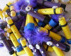 Tubete decorado Minions