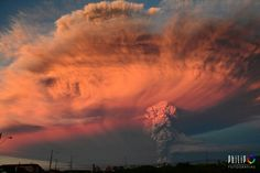 Volcán Calbuco , Chile
