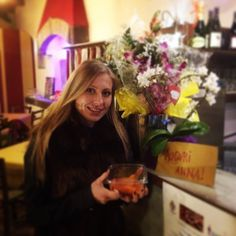 #flowers and #salmon no better #birthday gifts...#auguri Anna!