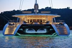 Hemisphere by Pendennis. With a length overall of 44.2m (145ft) and a gross tonnage of just under 500, Hemisphere is the largest privately owned luxury sailing catamaran in the world today.