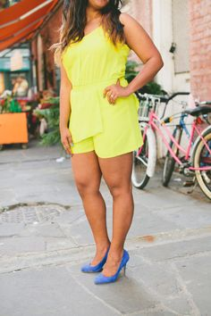 lime green romper 2