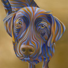 Omick - Look familiar? Colorful Animal Paintings, Colorful Animals, Adult Coloring, Coloring Books, Dog Paintings, Colorful Wallpaper, Dog Portraits, Dog Art, Dog Life