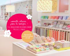 paris, adeline klam, papier japonais Space Crafts, Craft Space, Adeline Klam, Origami, Papers Co, Lutece, Back To School, Creations, Market Stalls