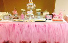 tutu tablecloth skirt - Google Search