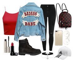 """""""Untitled #174"""" by perlahak on Polyvore featuring River Island, Timberland, Speck, adidas and Ilia"""