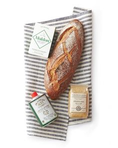 """""""To update the traditional Jewish housewarming present -- salt for spice, sugar for sweetness, and bread for sustenance -- I add a local olive oil and wrap up everything in a dish towel.""""-- Jodi Levine, crafts editor at large"""