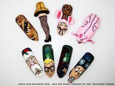 NailGurl - Holiday Inspired Nail Art: A Christmas Story