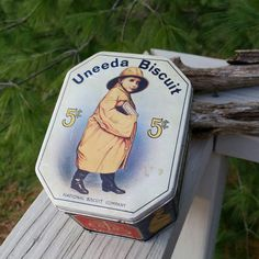 Check out this item in my Etsy shop https://www.etsy.com/listing/274780598/uneeda-biscuit-tin-vintage-reproduction