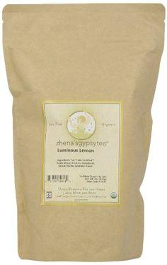 Zhena's Gypsy Tea Luminous Lemon Organic Loose Tea, 16-Ounce Bag - http://teacoffeestore.com/zhenas-gypsy-tea-luminous-lemon-organic-loose-tea-16-ounce-bag/