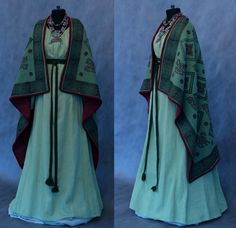Medieval Dress, Medieval Clothing, Character Costumes, Character Outfits, Historical Costume, Historical Clothing, Drawing Clothes, Costume Design, Aesthetic Clothes