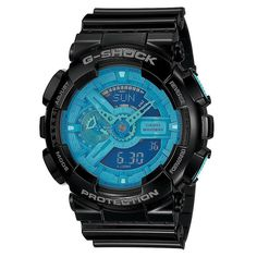 Casio G-Shock Men's Blue Dial and Resin Strap Watch http://www.thesterlingsilver.com/product/rolex-rolex-datejust-116200/